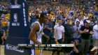 leandro barbosa  beats the halftime buzzer