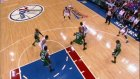 andre ıguodala dunks over paul pierce