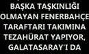 Fenerbahce Galatasaray 12 Mayıs 2012 Maç Sonrasi Rezalet