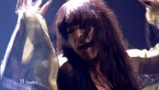 Loreen - Euphoria (Yarı Final Performansı) 2012