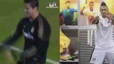 Neymar C Ronaldo nosa nosa asi vose me mata