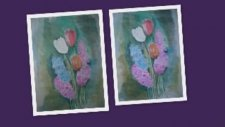 Suluboya Çiçeklerim