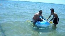 120 Kilolu Adam Denizi Taşırdı