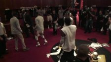 heat celebrate game 7 win with dance party!
