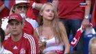 Euro 2012'yi sallayan Danimarkalı taraftar
