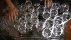 Harry Potter Theme Played On Glass Harp..flv