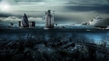 Londra Sular Altında Kaldı - Photoshop ile Nasıl yapılır?