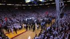the 2012 nba championship trophy presentation the heat are champions!