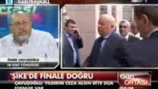 Ömer Çavuşoğlu Canlı Yayını Terk Etti!