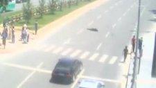 Kayseri'de mobeseye takılan kazalar