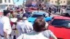 Ferrari araba fuarında kaza yaparsa