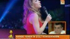 Hande Yener, Taksiciler Derneği Ödül Töreni