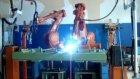 Abb ırb 2400 gaz altı kaynak robotları