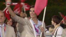 2012 Londra Olimpiyatları Türkiye Geçiş Töreni
