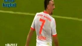Ribery Orta Sahadan Öyle Bir Gol Attı ki !