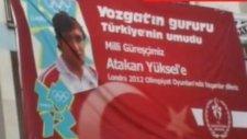 Haber yozgat milli güreşçilerin afişleri ile süslendi