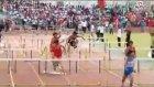 Engelli Koşuda Düzeni Bozan Sporcu