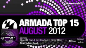out now armada top 15 - august 2012