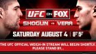 ufc on fox shogun vs vera weıgh ın