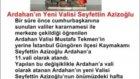 ardahanda son dakika haber ardahanın Yeni Valisi Seyfettin Azizoğlu - haberler