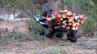 Demir baltık ATV kereste römork