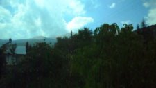 Yağmurda Dağlarda Güneş
