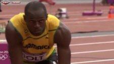 Usain Bolt 200 Metre Elemelerinde