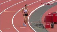 Merve Aydın yarışı gözyaşları içinde tamamladı!