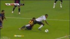 Rooney penaltı kaçırdı (Barcelona - Manchester United)