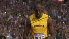 Usain Bolt'tan Tarihi Madalya