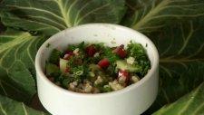 Maydanozlu Pirinç Salatası Tarifi