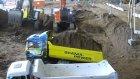 Scania 8x8 im Gelande durch Kum