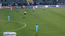 Neymar ceza sahası dışından şık vurdu!