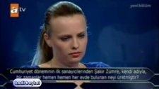Ünlü Futbolcunun Kızı O Soruyu Bilemedi!