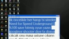 Need For Speed Underground Full Yapma
