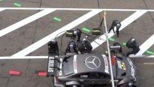 Michael Schumacher'in kardeşi Ralf Schumacher kendisini yarışa kaptırınca...