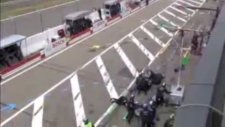 Ralf Schumacher'den inanılmaz kaza!
