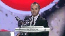 Uefa 2012 Yılın en iyi futbolcusu 'Iniesta' oldu