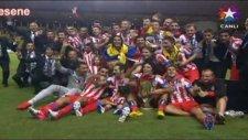 Süper Kupa Atletico Madrid'in (Kupa Töreni)