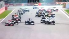 Formula 1'de Akılalmaz Kaza