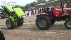 Akıl Almaz Traktör Kazası