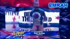 Cm Punk Vs John Cena Vs Big Show Summerslam 2012 Wwe Championship Highlights