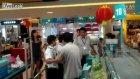 Markette müşteriler birbirine girdi!