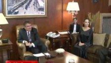 Bakan İdris Naim Şahin Angelina Jolie Buluşması
