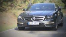 2013 Mercedes CLS 63 AMG Designo Graphite Driving Scenes