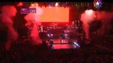 Beren Saat Kenan Doğulu'nun Harbiye Açıkhava Konserinde