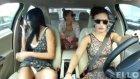 Rus kızların arabada canları sıkılırsa