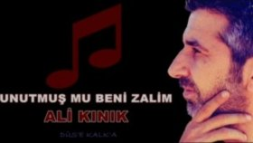 Ali Kınık - Unutmuş Mu Beni Zalim 2012