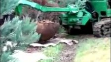 Ağaç Sökme Makinası