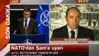 Nato'dan Şama Uyarı